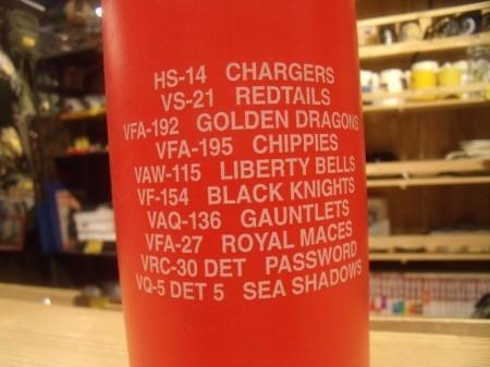 """U.S.NAVY Water Bottle """"CVW-5"""" 2002-3年頃? new?"""