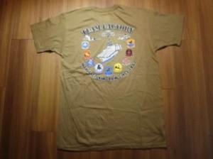 "U.S.NAVY T-Shirt ""CARRIER AIR WING 8"" sizeL new"