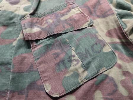 U.S.MARINE CORPS Coat Camouflage 1968年sizeM-S used
