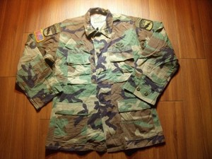 U.S.ARMY Coat Combat WoodLand 1999年 sizeM-Regular