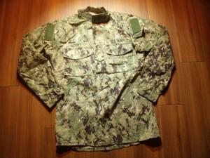 U.S.NAVY Blouse Working Uniform TypeⅢ sizeS-XLong