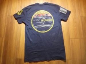 "U.S.NAVY T-Shirt ""USS RONALD REAGAN CVN-76"" sizeS"
