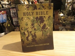 "U.S.NAVY ""HOLY BIBLE"" used"