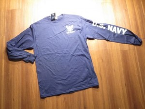 U.S.NAVY T-Shirt Long Sleeves sizeM new