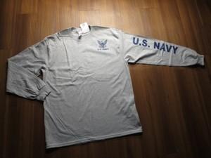 U.S.NAVY T-Shirt Long Sleeves sizeL new