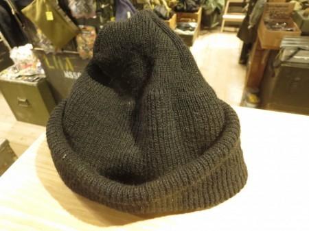 U.S.NAVY Watch Cap 100% Wool 2014年 used