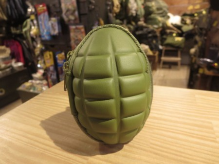 Grenade style Pouch for Keys & Coins(OD)new
