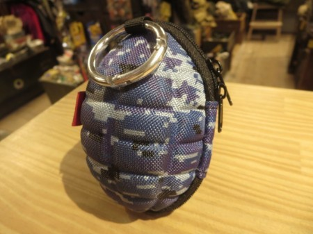Grenade style Pouch for Keys & Coins (海自?) new