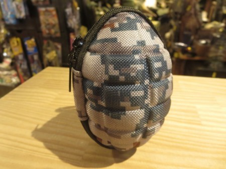 Grenade style Pouch for Keys & Coins (空自?) new