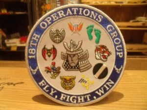 "U.S.AIR FORCE Patch ""18TH OERATIONS GROUPE"""
