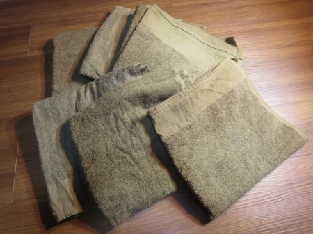 U.S.Field Towel Desert 約120cm×約60cm used(1枚の価格です)