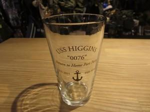 "U.S.NAVY Tumbler ""USS HIGGINS DDG-76"" used"