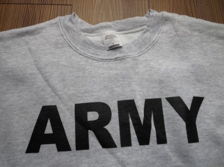 "U.S.ARMY Sweat ""Physical Training"" sizeS new"