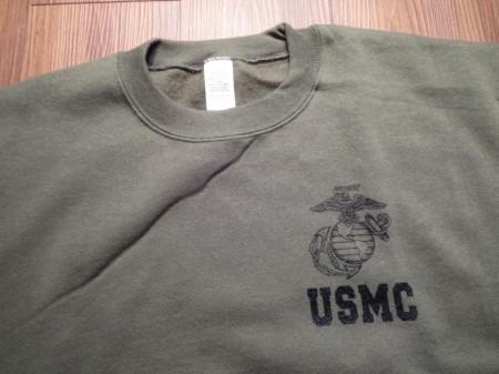 """U.S.Marine Corps Sweat""""Physical Training""""sizeL new"""