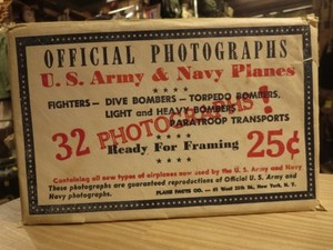 U.S.ARMY&NAVY Planes Official Photographs 1940年代