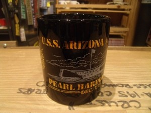 "U.S.NAVY Mug ""USS ARIZONA MEMORIAL"" 1991年"