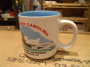 "U.S.NAVY Mug ""USS NORTH CAROLINA BB-55"""