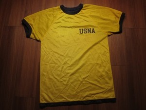 U.S.NAVAL ACADEMY T-Shirt Reversible sizeM used