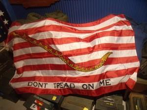 """U.S.NAVY Flag """"DONT TREAD ON ME"""" used?"""