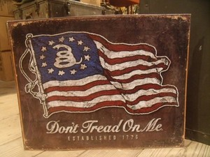 "U.S.NAVY Metal Signature ""Don't Tread On Me"" new"