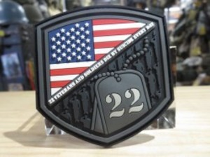 """U.S.Patch """"VETERANS AND SOLDIERS ~"""" new?"""