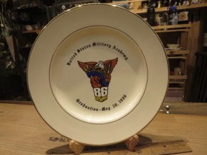 "U.S.ARMY Plate ""Military Academy"" 1986年 used"