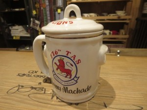 "U.S.AIR FORCE Mug ""776th TAS"" 1970年頃? used"