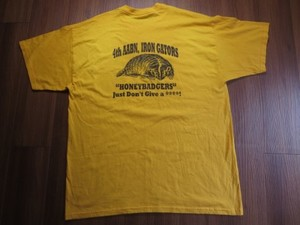 "U.S.MARINE CORPS T-Shirt ""4th AABN"" sizeXL used"