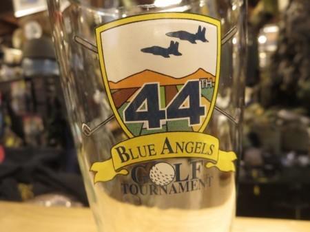 "U.S.NAVY Glass ""BLUE ANGELES GOLF TOURNAMENT"" used"
