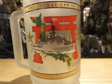 """U.S.NAVY MUG """"USS JUNEAU LPD-10"""" used"""