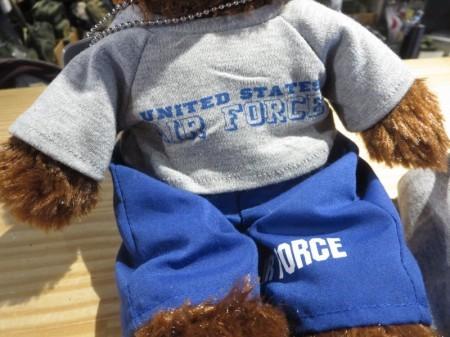U.S.AIR FORCE Stuffed Bear Small new
