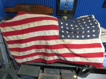 "U.S.Flag ""The 48Stars and Stripes"" 140cm×80cm used"