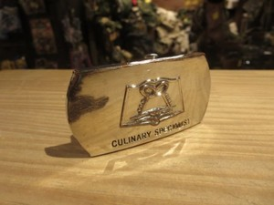 "U.S.NAVY Buckle ""CULINARY SPECIALIST"" used"