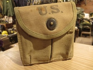 U.S. Pouch for M1Carbine Magazine 1942年 used