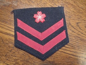 Japan Maritime Self-Defense Force Patch used