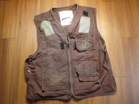 U.S.NAVY Vest Life Preserver FlightDeck sizeM used