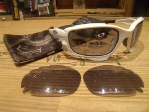 "U.S.OAKLEY Sunglasses ""JAWBONE"" used"