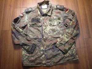 Germany Field Jacket Fleck Camo size2(M?) used
