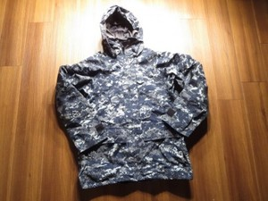 U.S.NAVY Gore-Tex Parka NWU sizeS-Short used