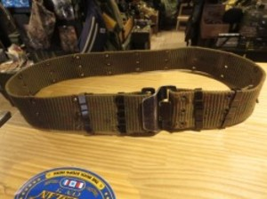U.S.Pistol Belt Cotton M-1967 VietNamWar used