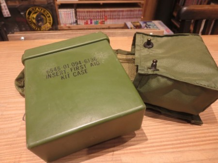 U.S.First Aid Kit Pouch 1986年 used