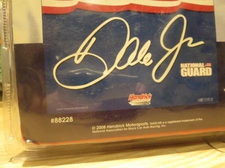 "U.S.NATIONAL GUARD ""NASCAR RACE"" Flag ""Dale Jr"""