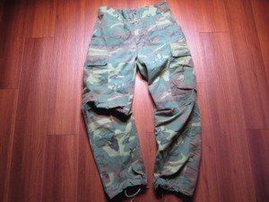 U.S.Field Trousers RIP-STOP 1968年 sizeS-R used