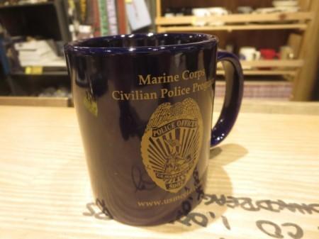 "U.S.MARINE CORPS Mug ""POLICE OFFICER"""