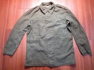 Sweden Fatigue Jacket Cotton? sizeM? used