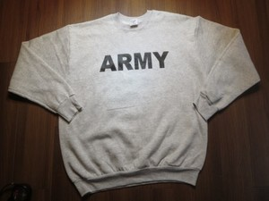 "U.S.ARMY Sweat ""Physical Training"" sizeM new"