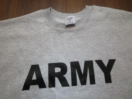 "U.S.ARMY Sweat ""Physical Training"" sizeM new"