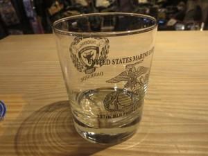"U.S.MARINE CORPS Glass 2012年? ""3rd BN 4th MARINES"""