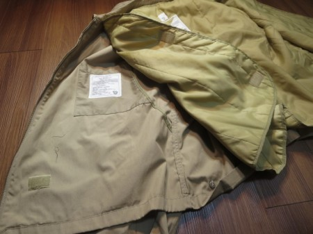 U.S.NAVY WindBreaker with Liner size48R used