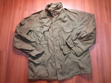 U.S. M-65 Field Jacket 1986年 sizeXL-Regular used